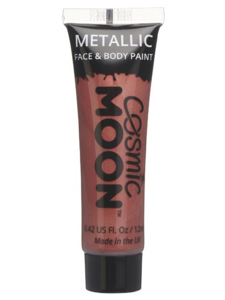 Cosmic Moon Metallic Body & Face Paint in Red